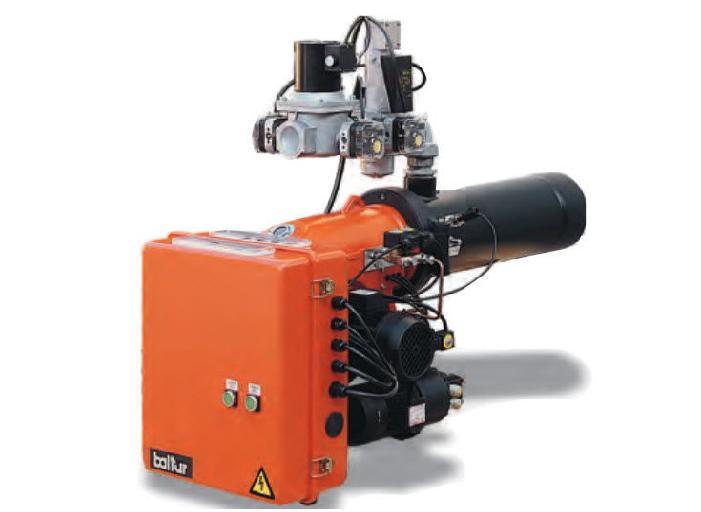 газовая горелка baltur comist 20 , номинальное давление газа на горелке